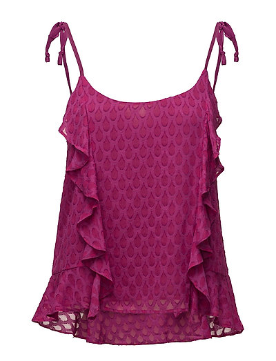 Blouses woven - DARK PINK