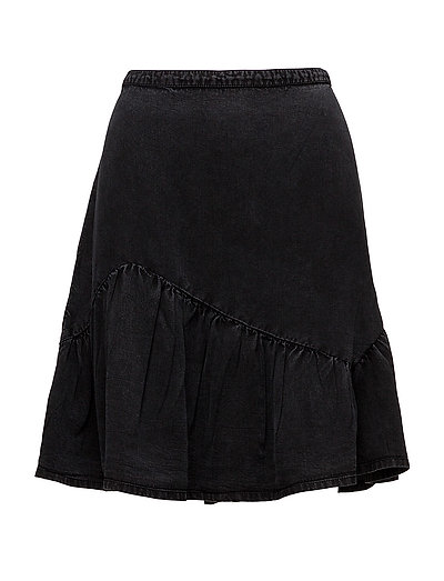 Skirts light woven - ANTHRACITE