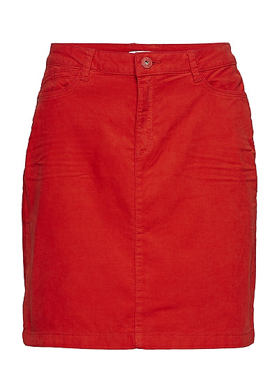 Skirts woven - ORANGE RED