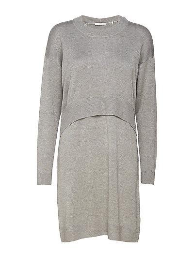 Dresses flat knitted - MEDIUM GREY 5