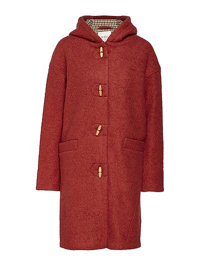 Coats woven - TERRACOTTA