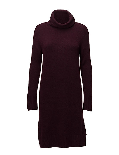 Dresses flat knitted - BERRY PURPLE