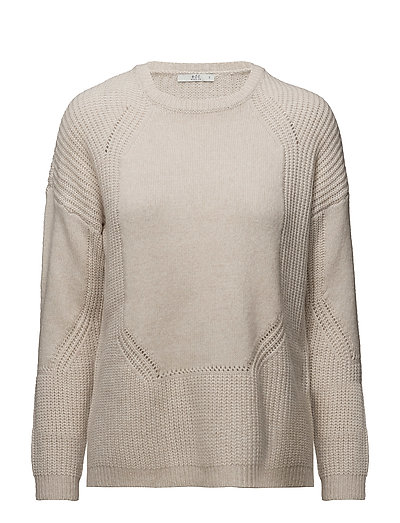 Sweaters - CREAM BEIGE