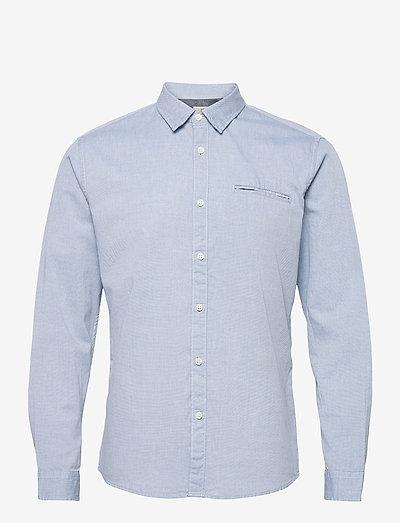 Shirts woven - hørskjorter - light blue 5