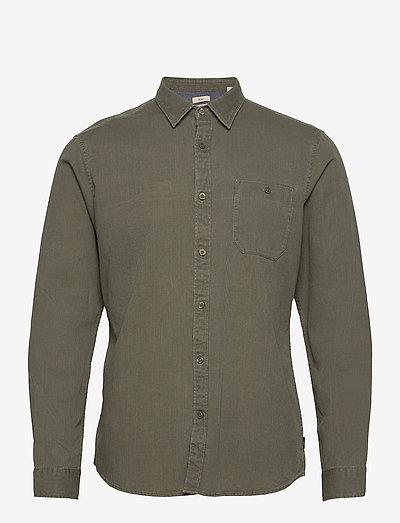 Shirts woven - basic skjorter - khaki green 5