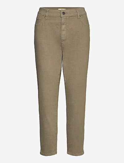 Pants woven - straight regular - light khaki