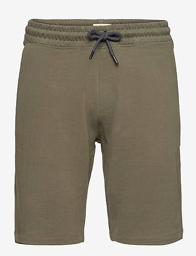 Shorts knitted - casual shorts - dark khaki