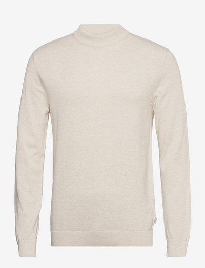 Sweaters - basic strik - off white 5