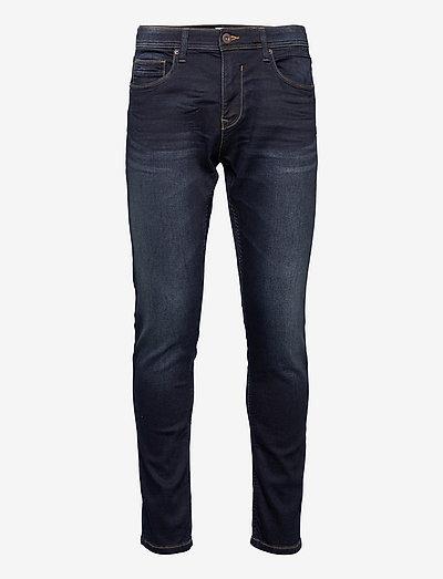 Pants denim - regular jeans - blue black