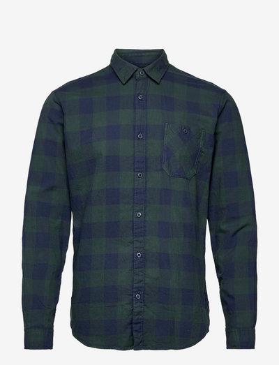 Shirts woven - ternede skjorter - teal blue