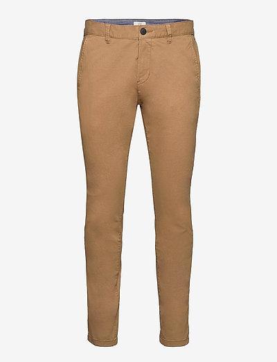 Pants woven - chinos - camel