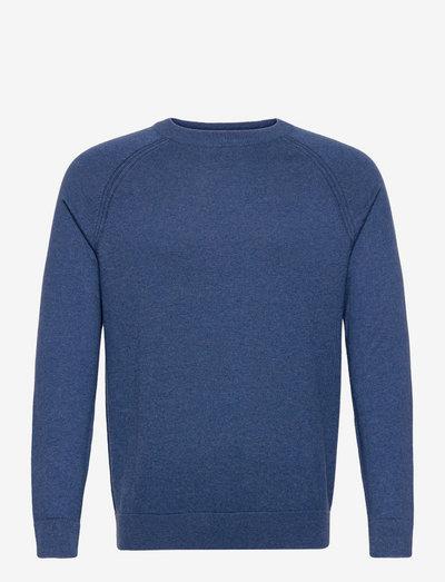 Sweaters - basic strik - grey blue 5