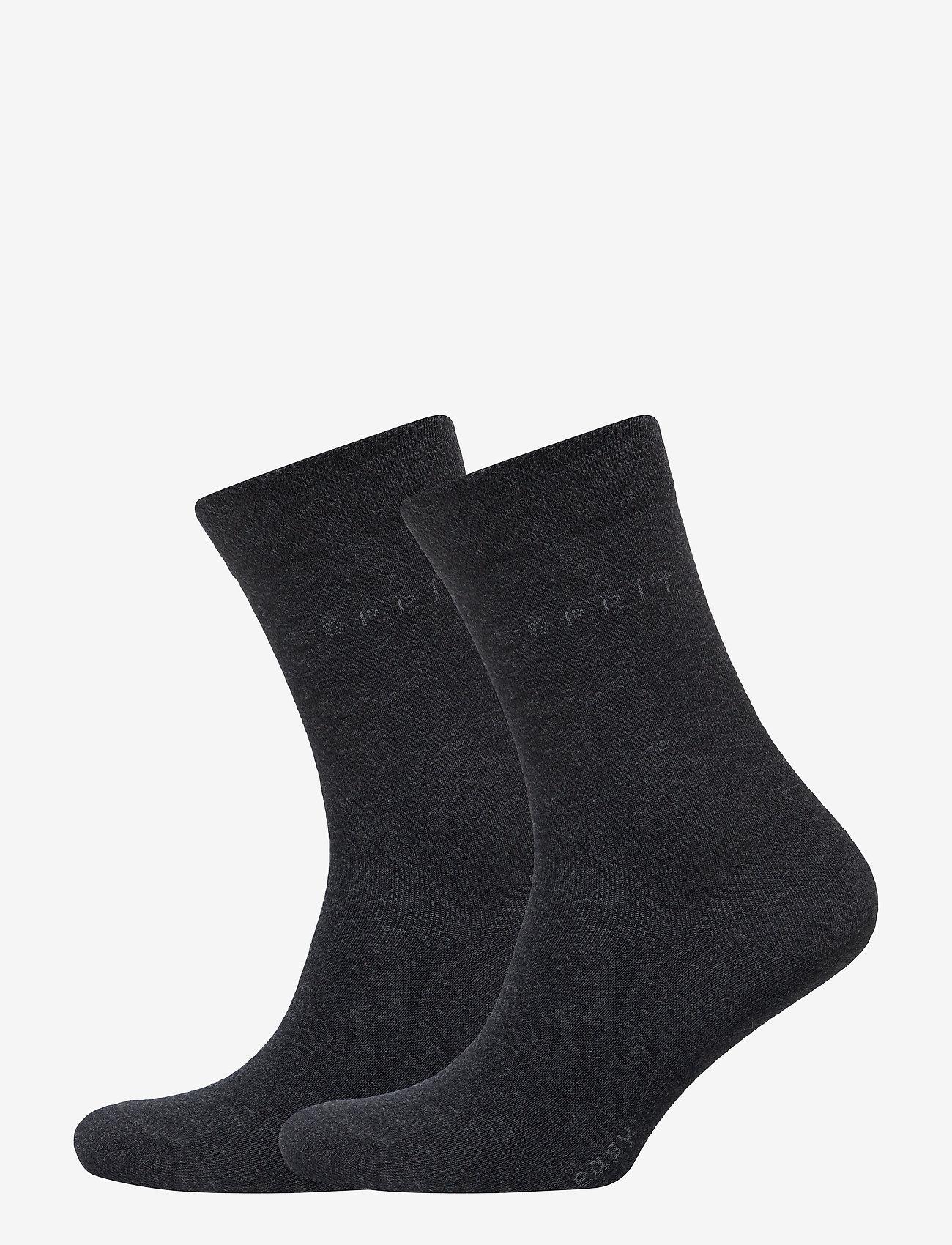 Esprit Socks - Basic Easy SO2P - normale sokken - anthra.mel - 0