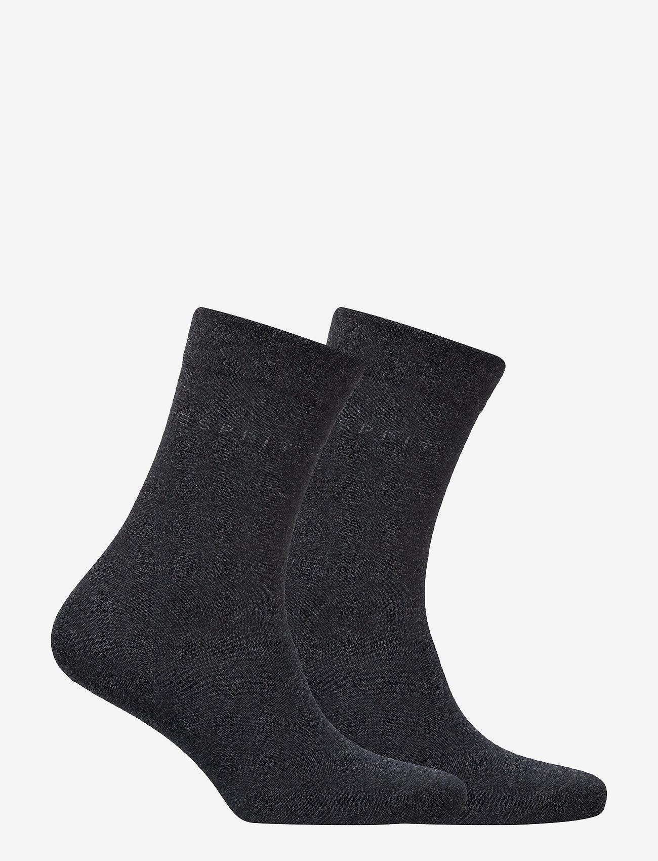 Esprit Socks - Basic Easy SO2P - normale sokken - anthra.mel - 1