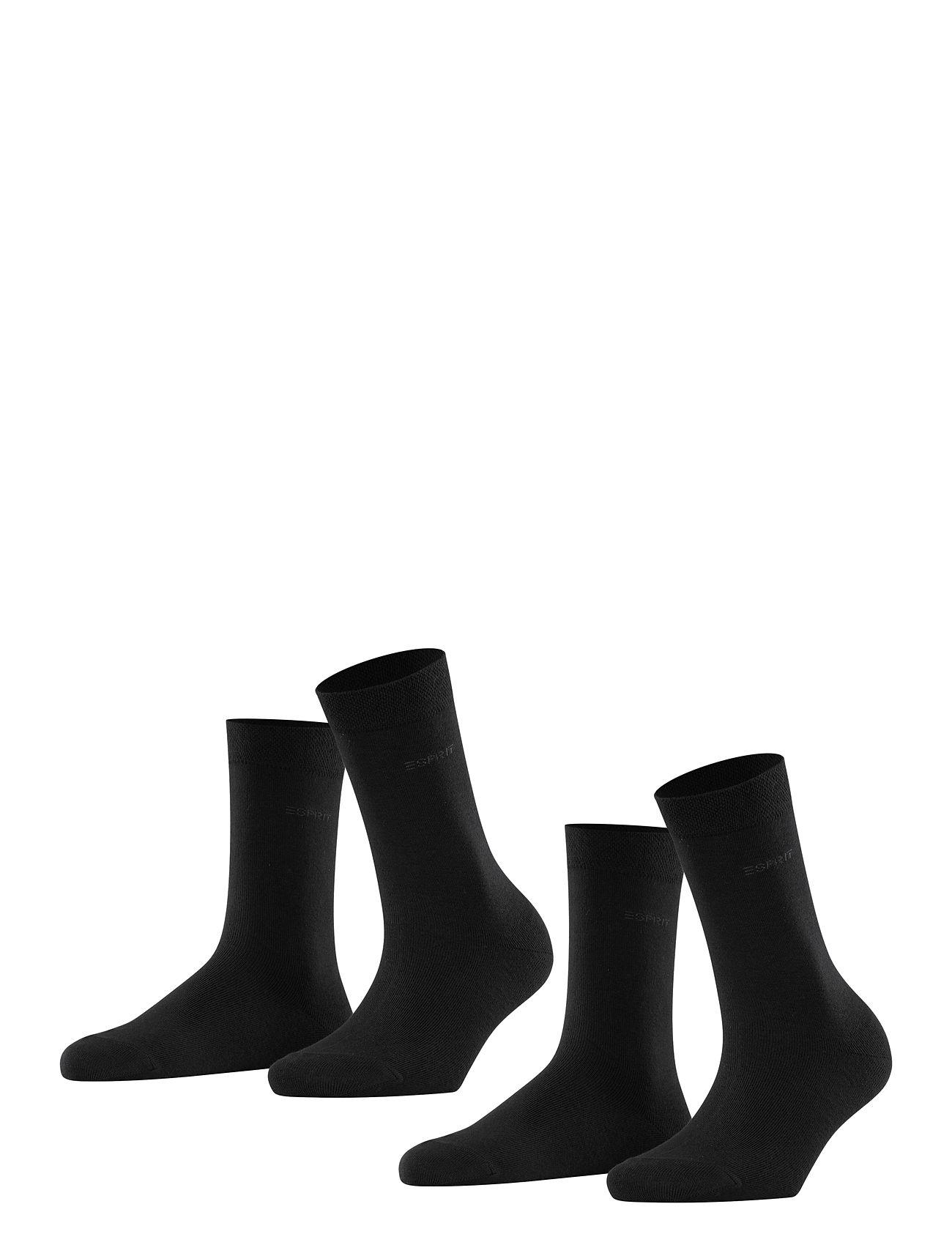 Esprit Socks Basic Easy SO2P - BLACK