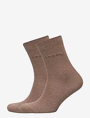 Esprit Socks - Basic Easy SO2P - regular socks - nutmeg mel - 0