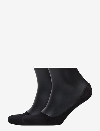 Cotton IN 2P - ankelstrømper - black