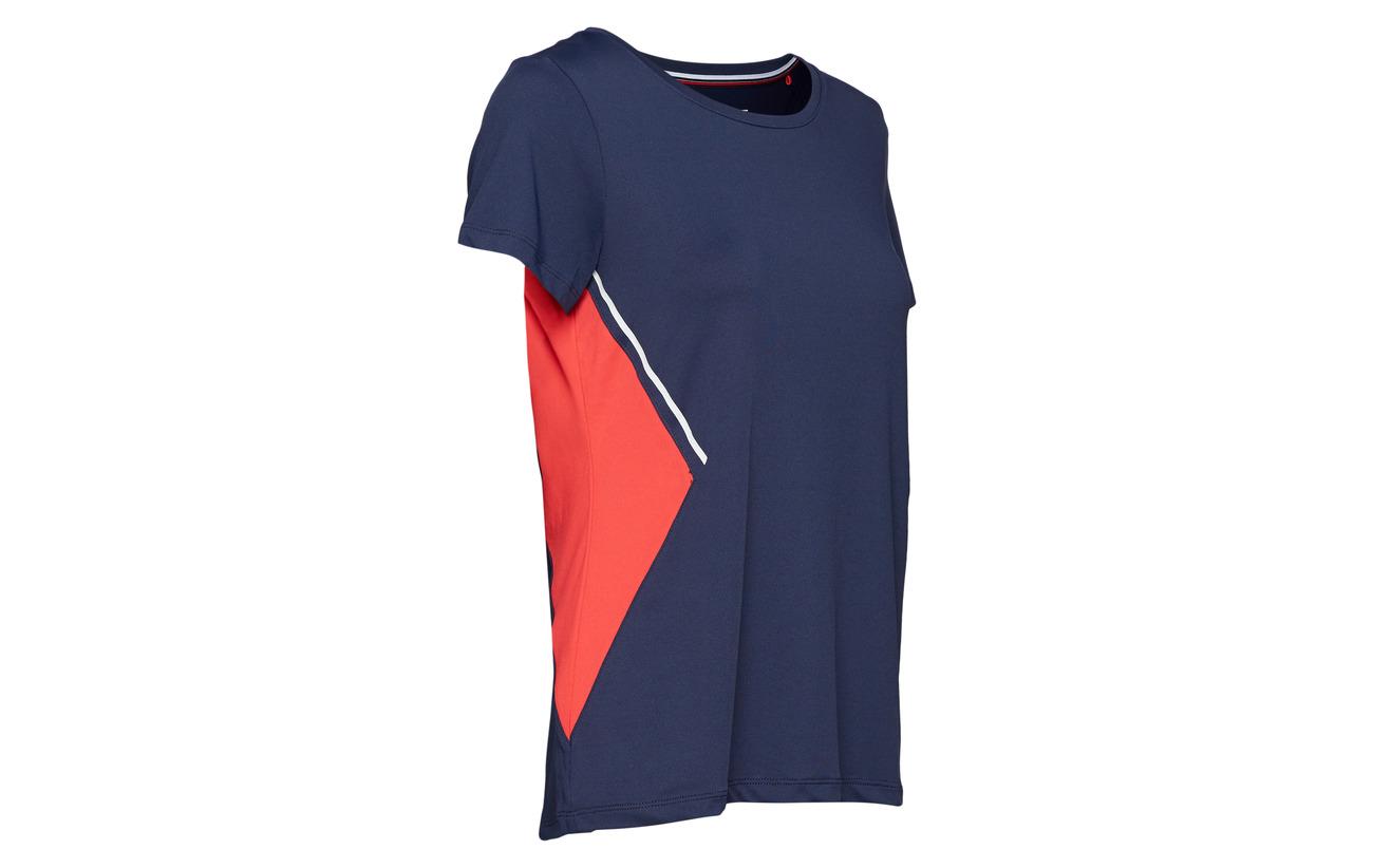 95 Sport Esprit T Red 5 Polyester shirts Elastane OA4Zz