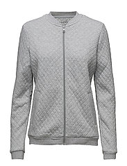 Sweatshirts cardigan - LIGHT GUNMETAL 2