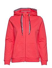 Sweatshirts cardigan - RED
