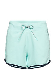 Shorts knitted - LIGHT AQUA GREEN