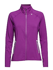 Jackets indoor knitted - BERRY PURPLE