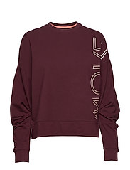 Sweatshirts - BORDEAUX RED