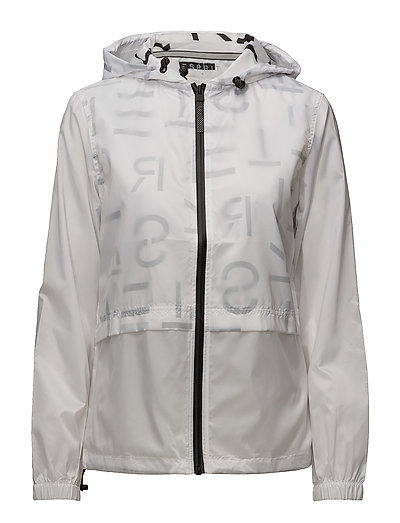 Jackets outdoor woven - WHITE