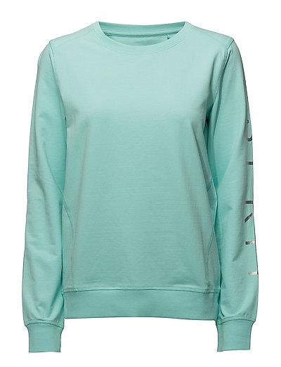 Sweatshirts - LIGHT AQUA GREEN