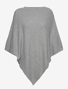 Shawls/Scarves - ponchos et capes - medium grey