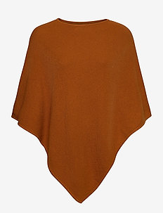 Shawls/Scarves - ponchos & capes - rust brown