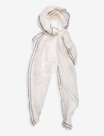 Shawls/Scarves - tynde tørklæder - off white