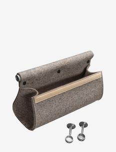 Ulrika storage - knager & knagerækker - natural wool,aluminium