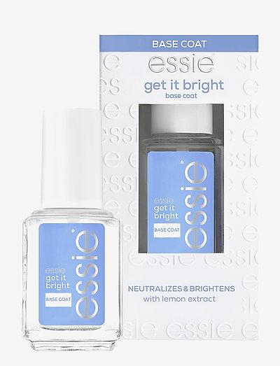 essie nail care - nagelvård - get it bright