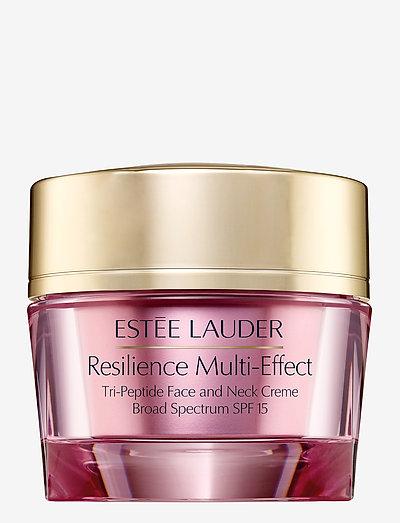 Resilience Multi-Effect Tri-Peptide Face Neck Creme SPF 15 - päivävoiteet - no color