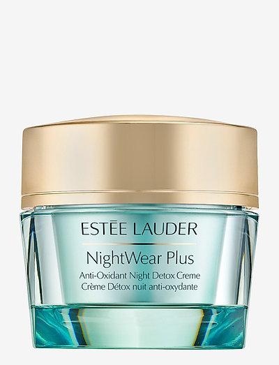 NightWear Plus Anti-Oxidant Night Detox Creme - nattkräm - clear