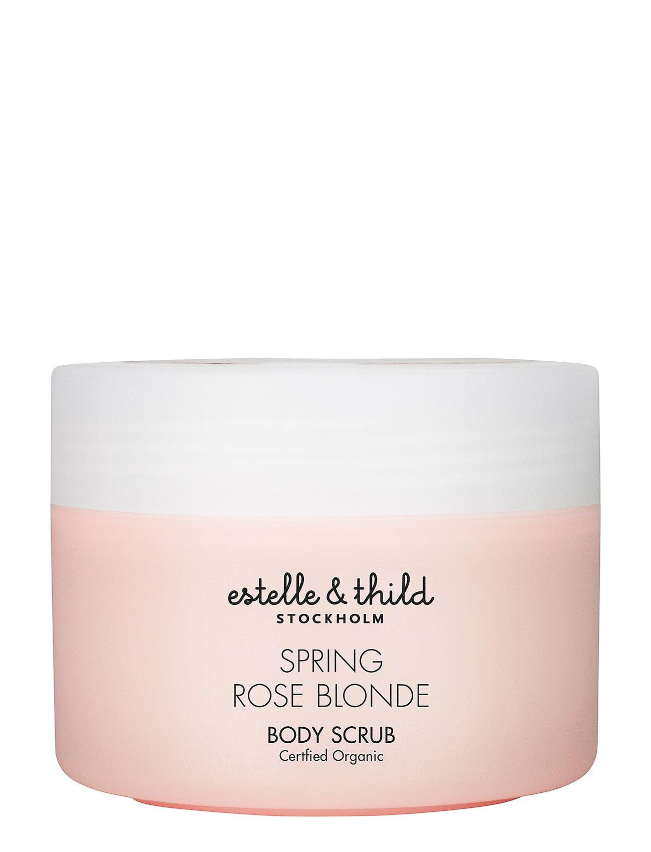 Spring Rose Blonde Body Scrub - Estelle & Thild