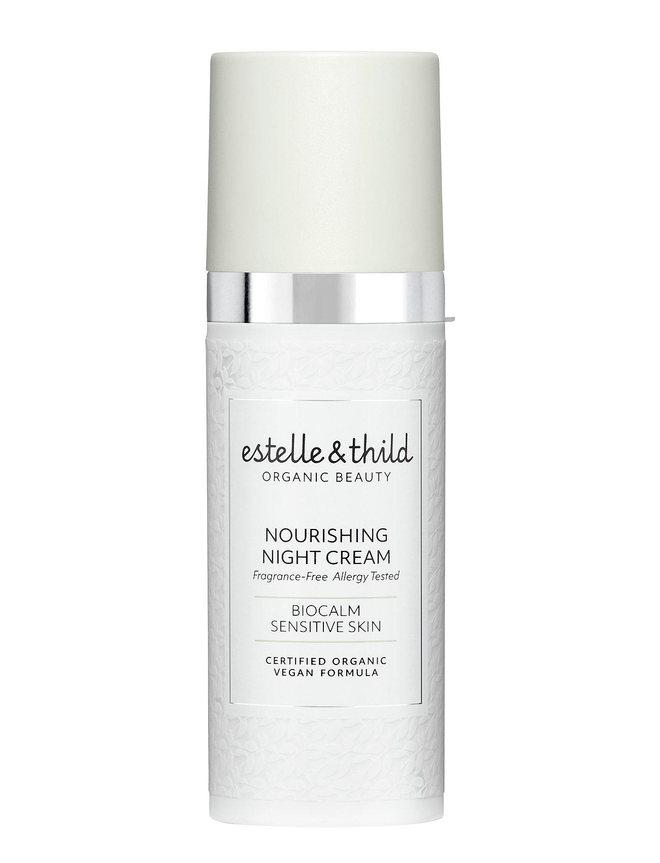 Estelle & Thild BioCalm Nourishing Night Cream - CLEAR
