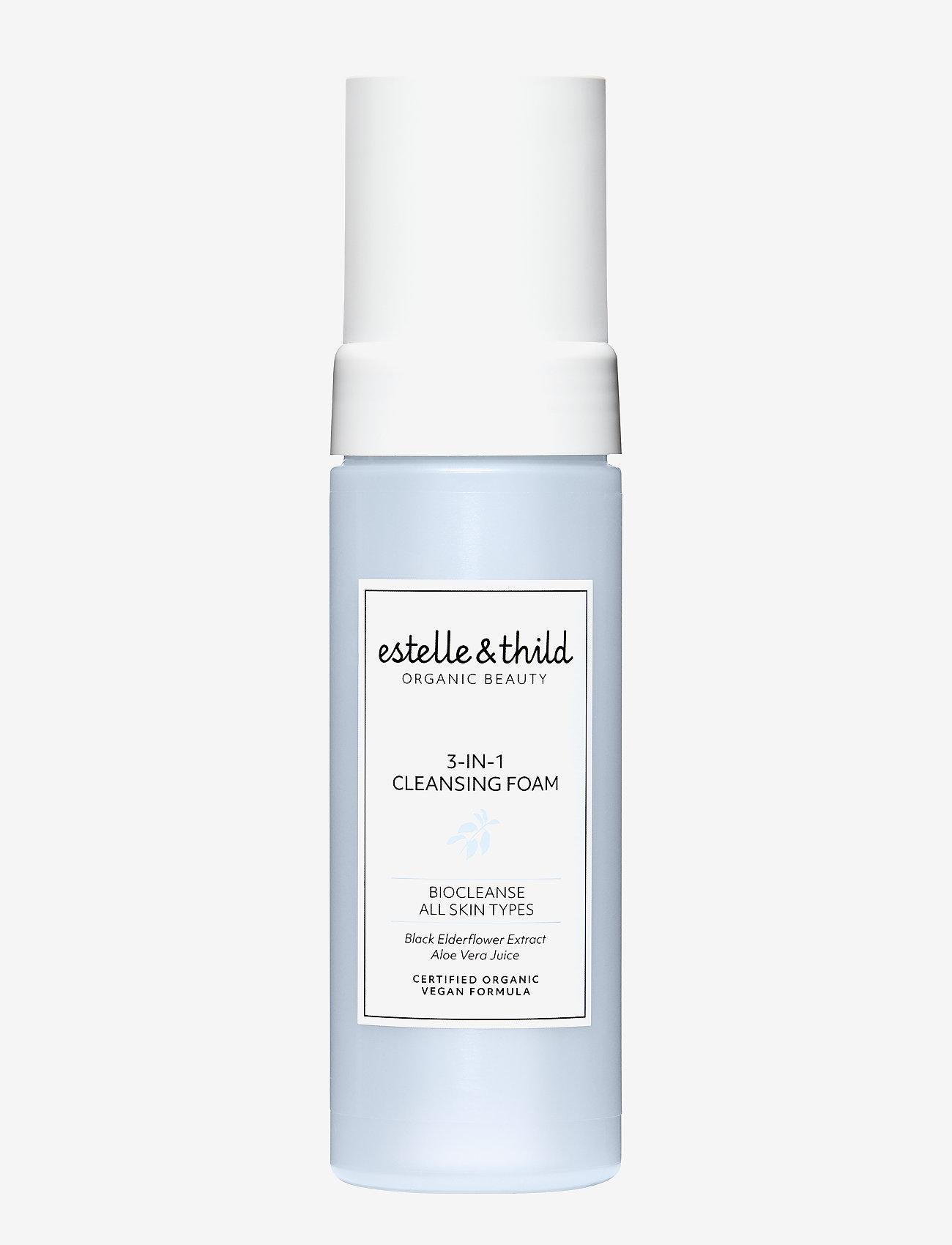Estelle & Thild - BioCleanse 3-in-1 Cleansing Foam - rensegel - clear - 0