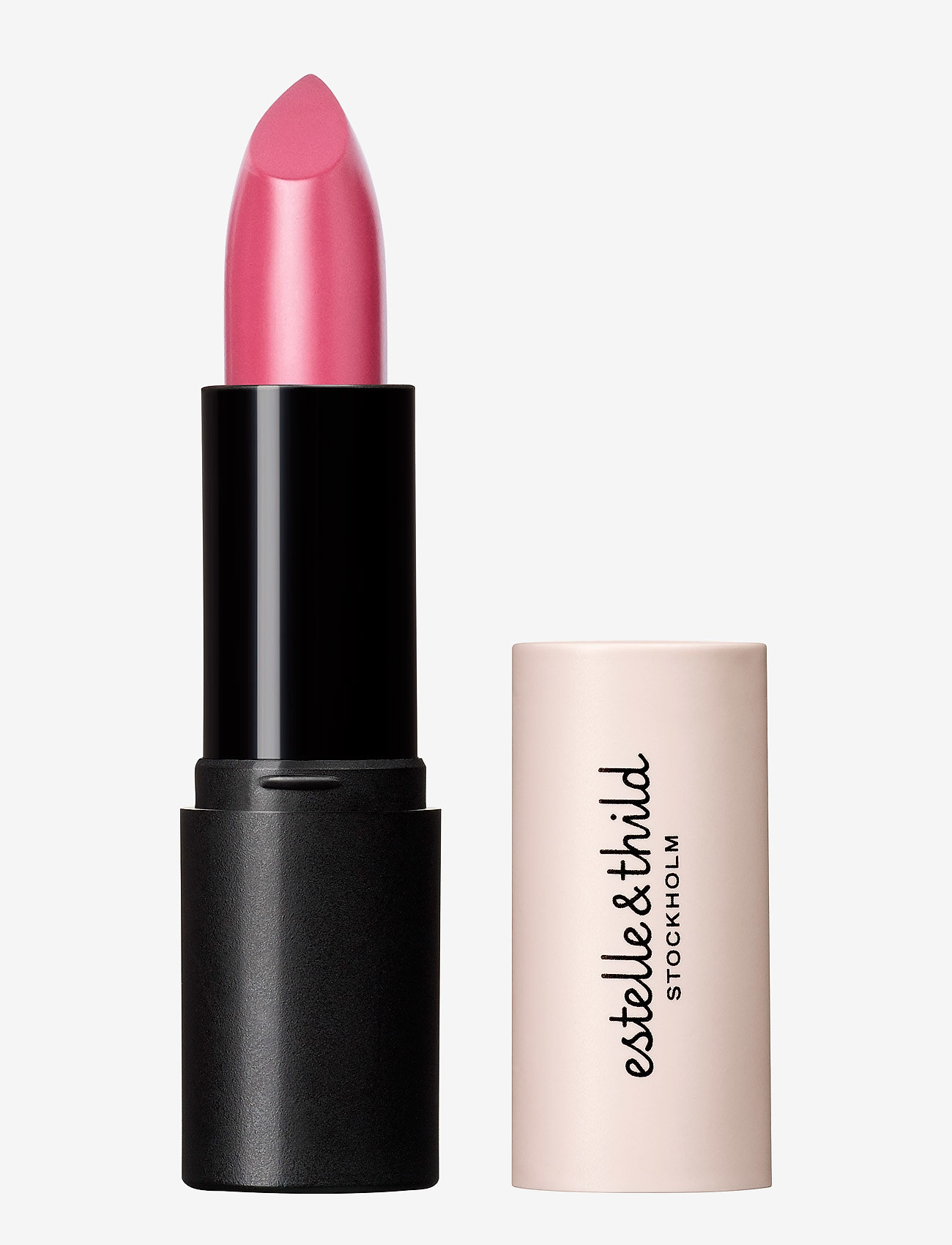 Estelle & Thild - BioMineral Cream Lipstick Deep Pink - læbestift - deep pink - 0
