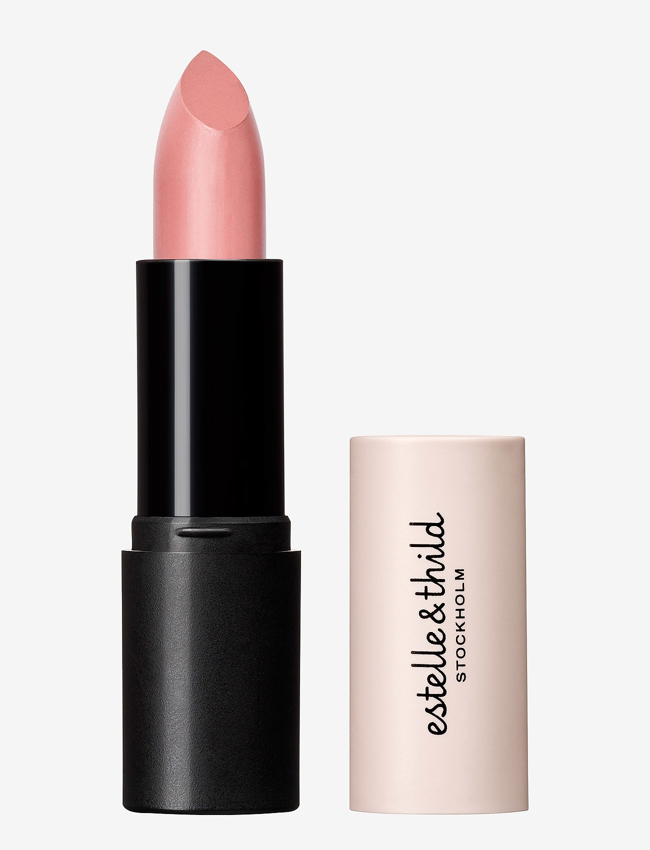 Estelle & Thild - BioMineral Cream Lipstick Caramel - læbestift - caramel - 0
