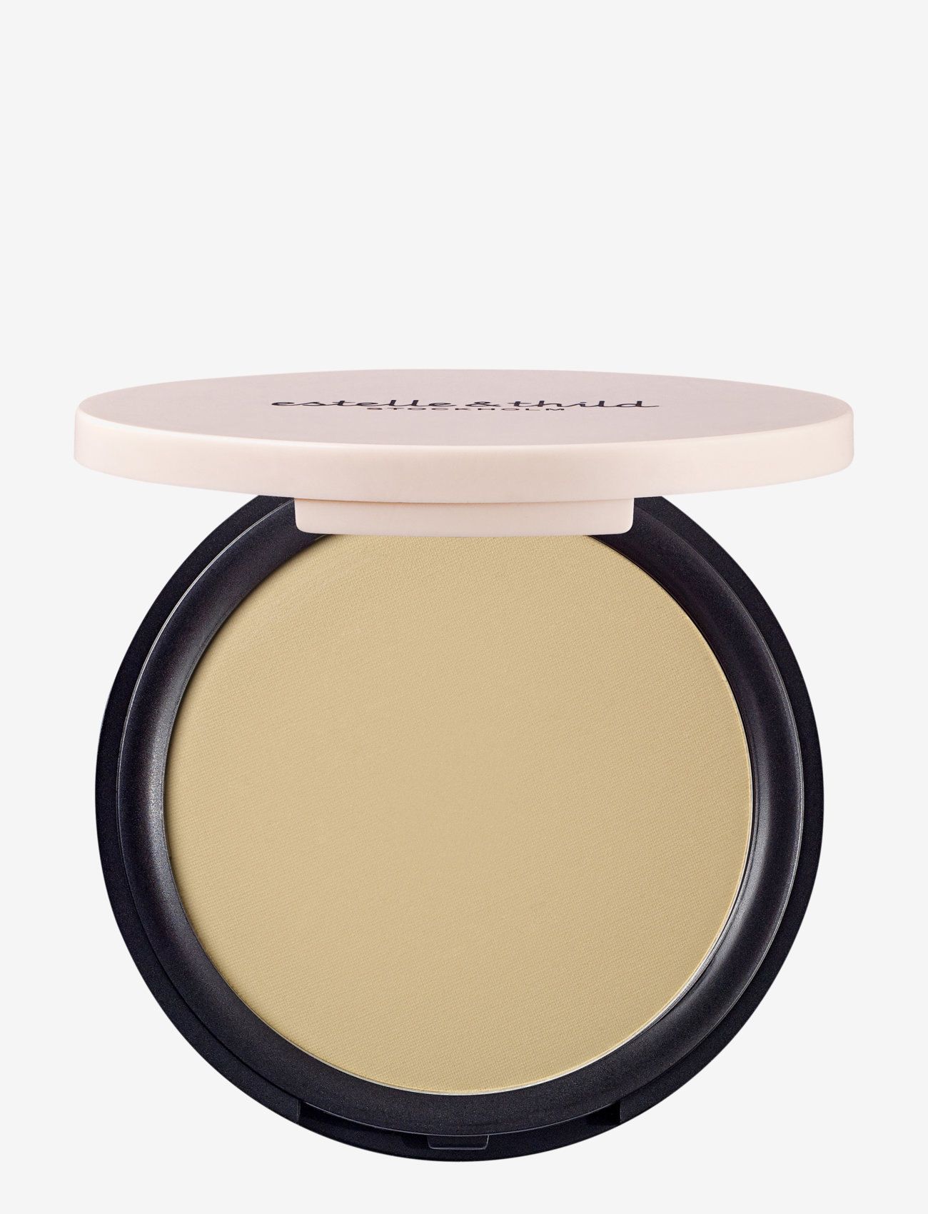 Estelle & Thild - BioMineral Silky Finishing Powder 122 Light Yellow - pudder - 122 light yellow - 0
