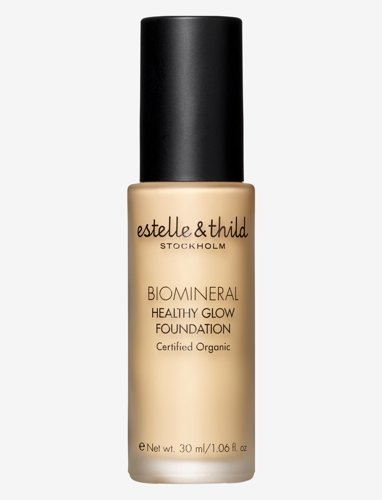 Estelle & Thild - BioMineral Healthy Glow Foundation 123 - foundation - 123 medium yellow - 0