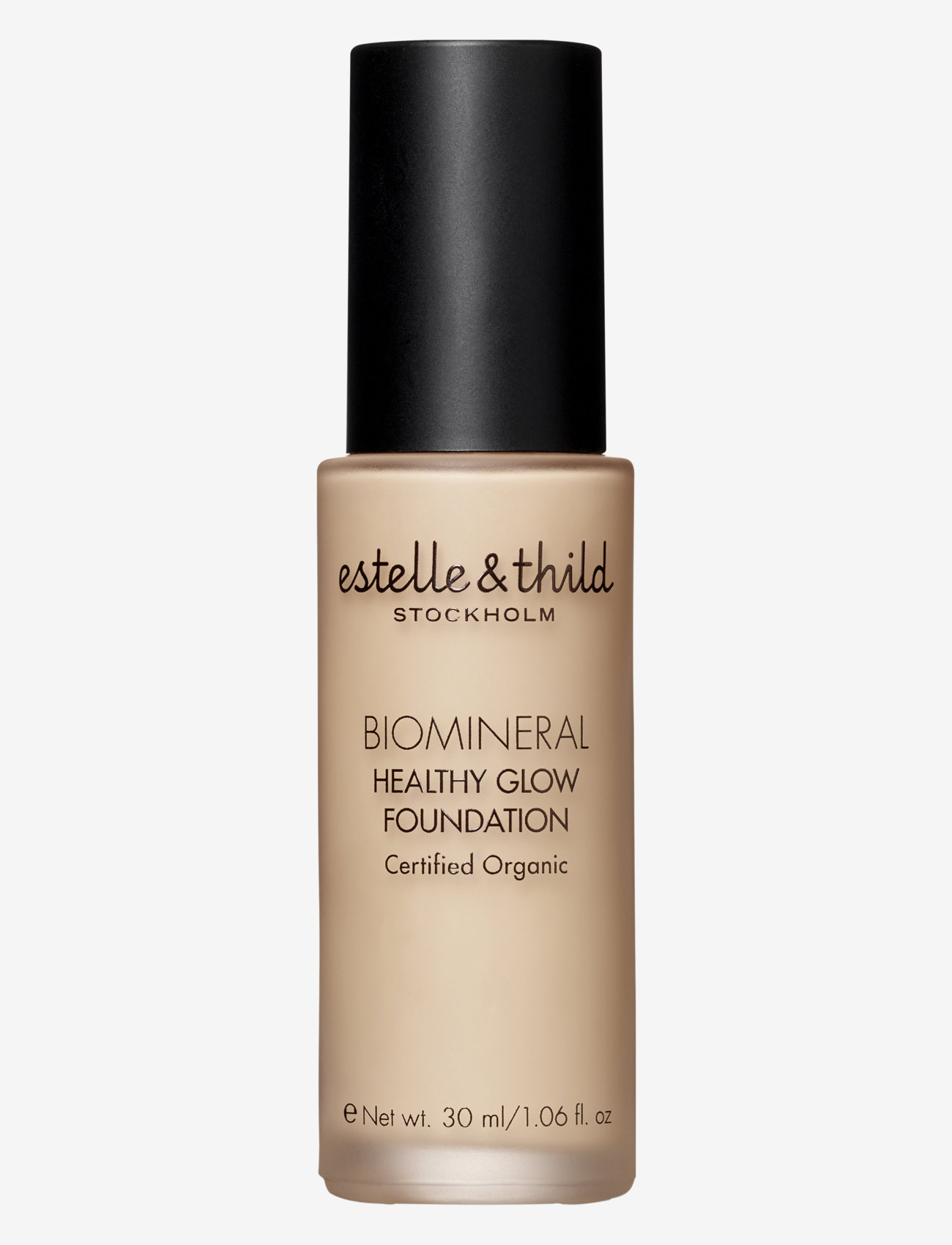 Estelle & Thild - BioMineral Healthy Glow Foundation 121 - foundation - 121  light yellow - 0