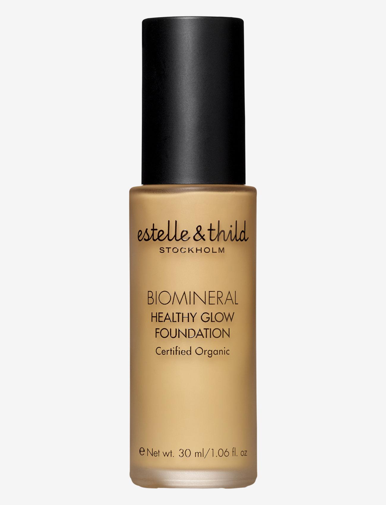 Estelle & Thild - BioMineral Healthy Glow Foundation 125 - foundation - 125 dark yellow - 0
