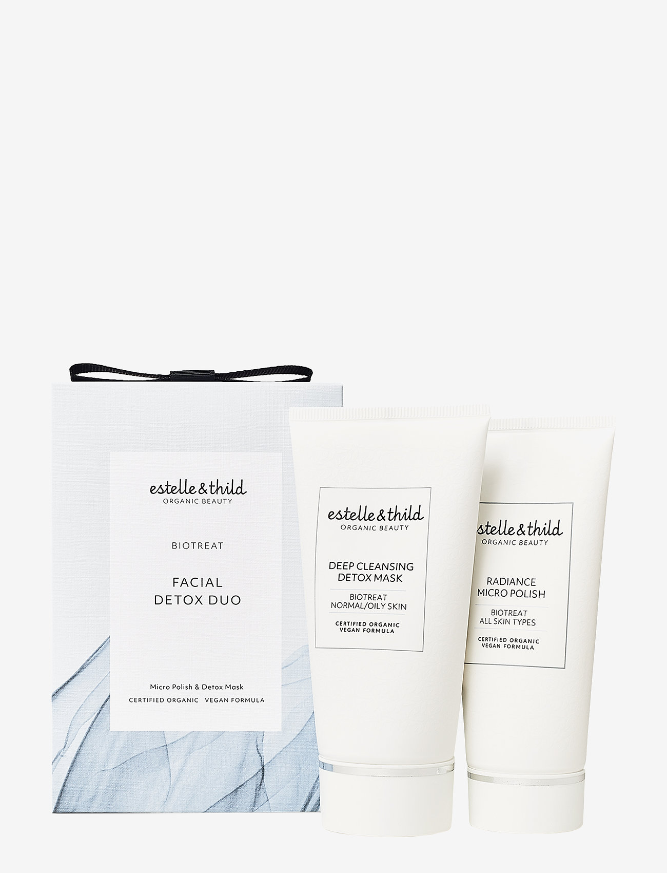 Estelle & Thild - BioTreat Micropolish & Detox - ihonhoitosetit - no colour - 0