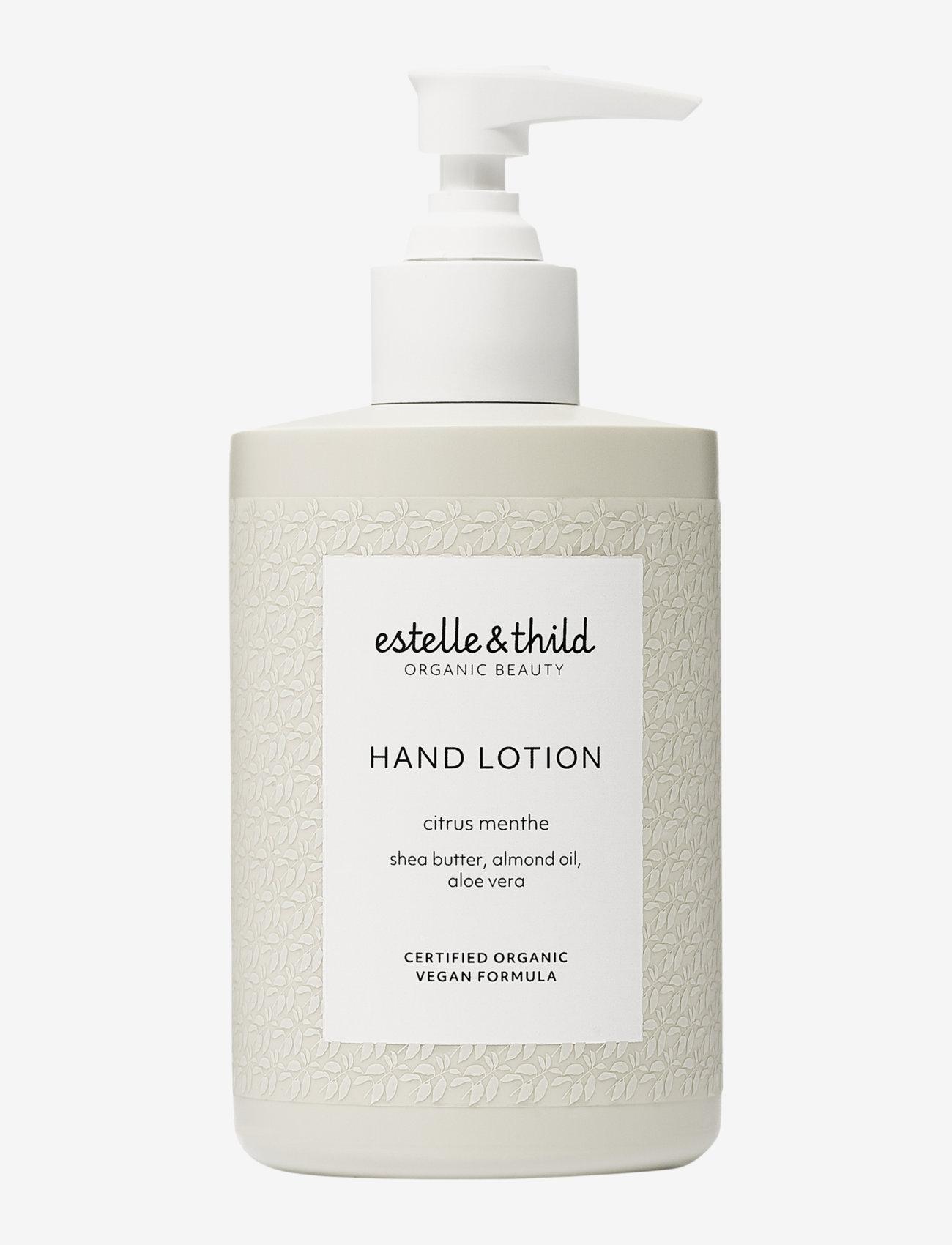 Estelle & Thild - Citrus Menthe Hand Lotion - käsivoide ja jalkavoide - no colour - 0