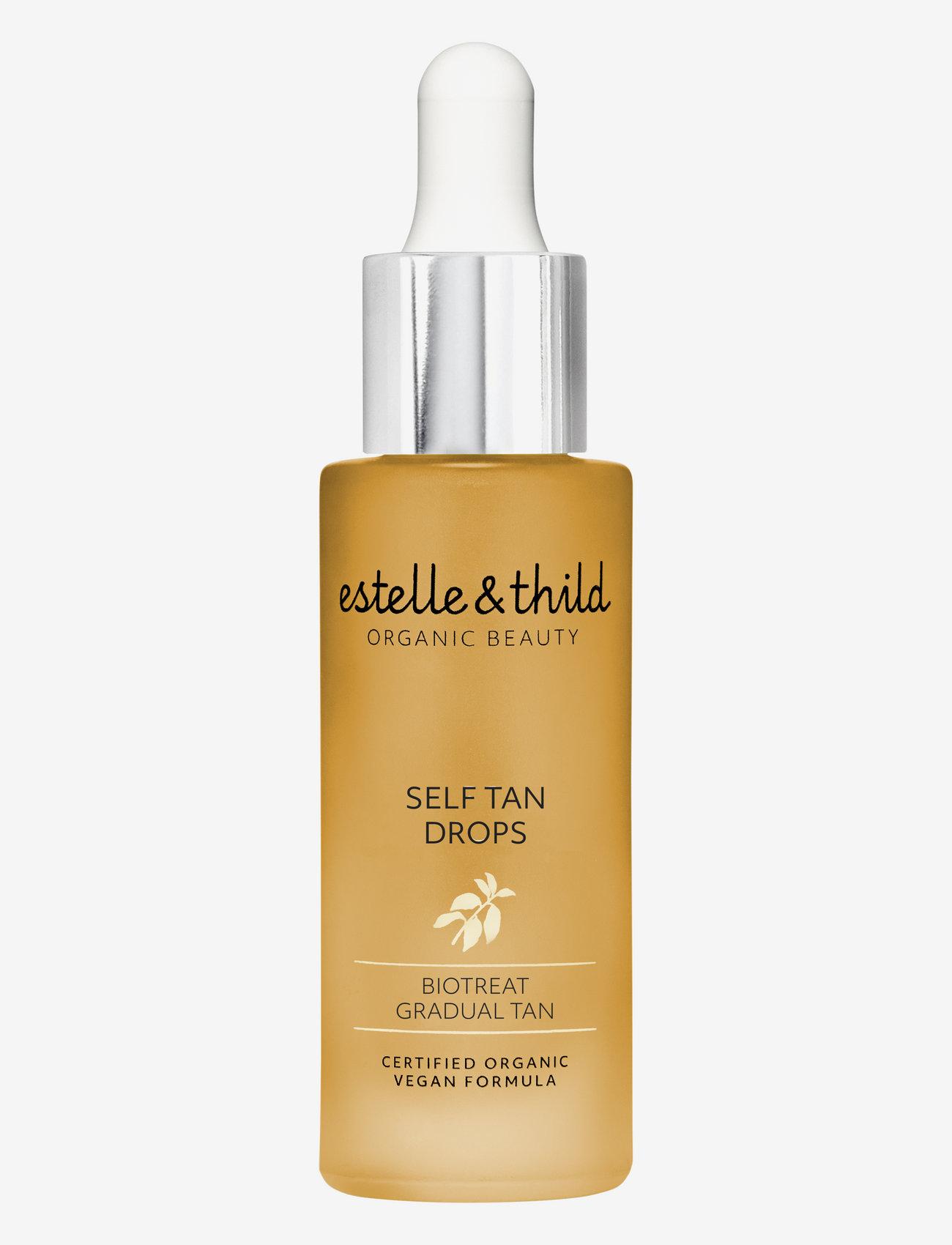 Estelle & Thild - Self Tan drops - rusketus - clear - 0