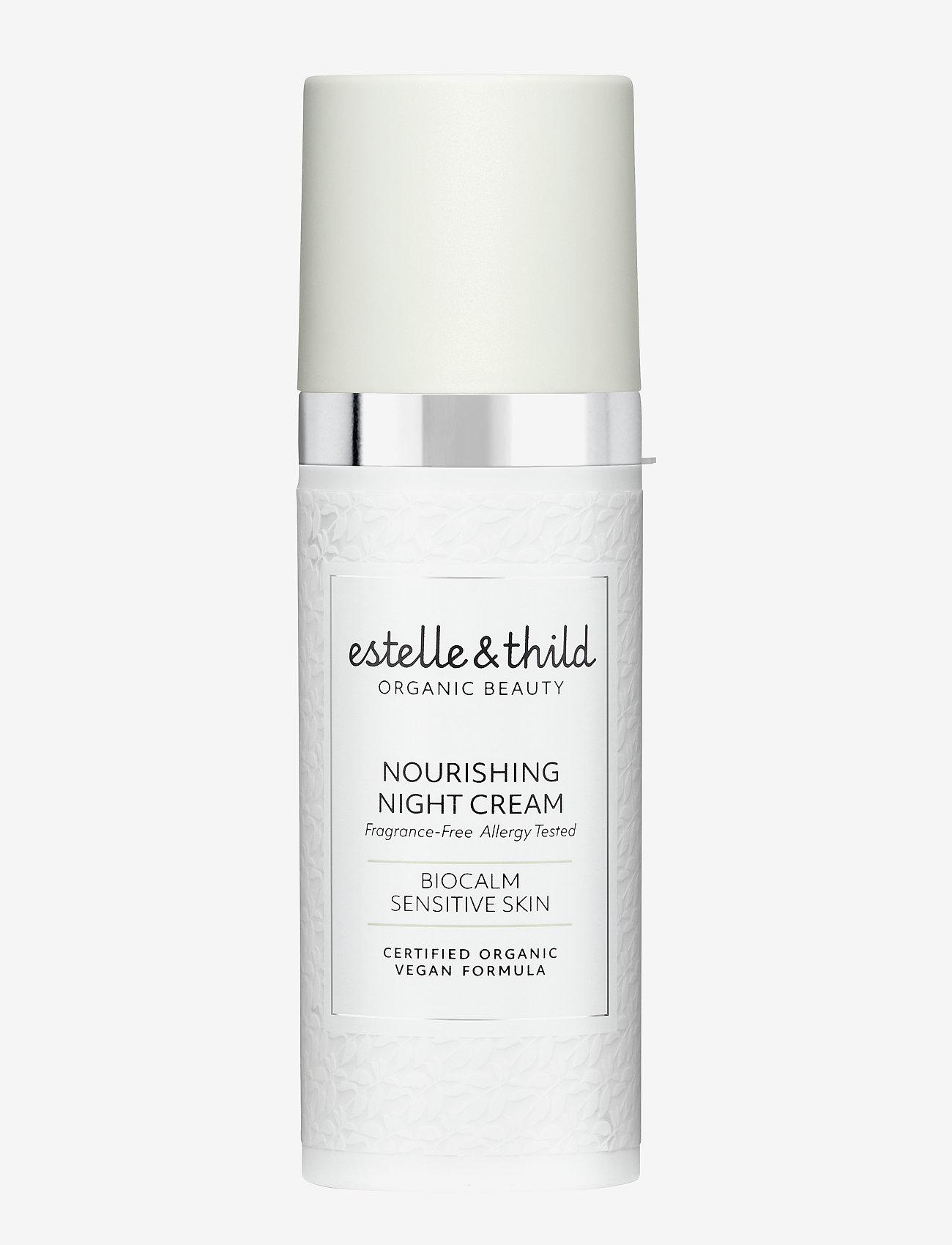 Estelle & Thild - BioCalm Nourishing Night Cream - yövoide - clear - 0
