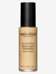 Estelle & Thild - BioMineral Healthy Glow Foundation 115 - foundation - 115 dark pink - 0
